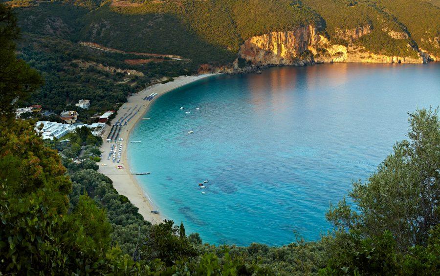Beach, Parga, Greece