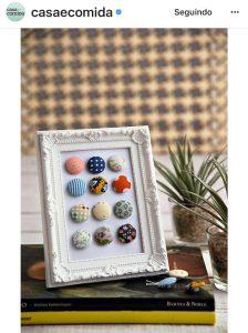 Botões na Decoração - Imagem
