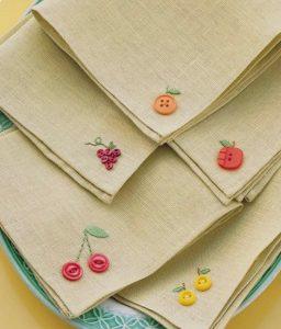 Botões mesa posta - Imagem Pinterest
