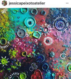 Botões na Arte - Imagem