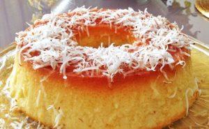 Manjar de tapioca cremoso. Foto: Reprodução / Blog da Thassia