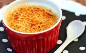 Creme de tapioca com baunilha. Foto: Reprodução / Panelaterapia
